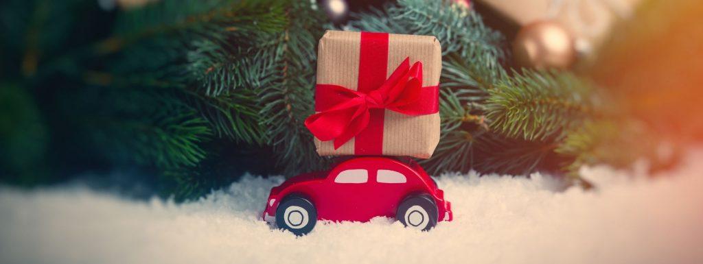 Car gifts at Christmas
