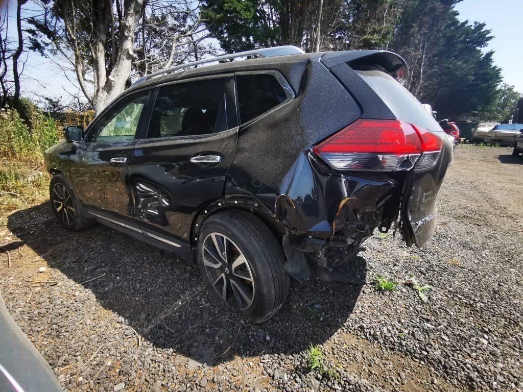 Salvage car collected in Fareham