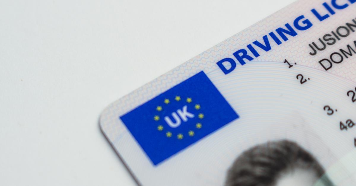 UK driving license